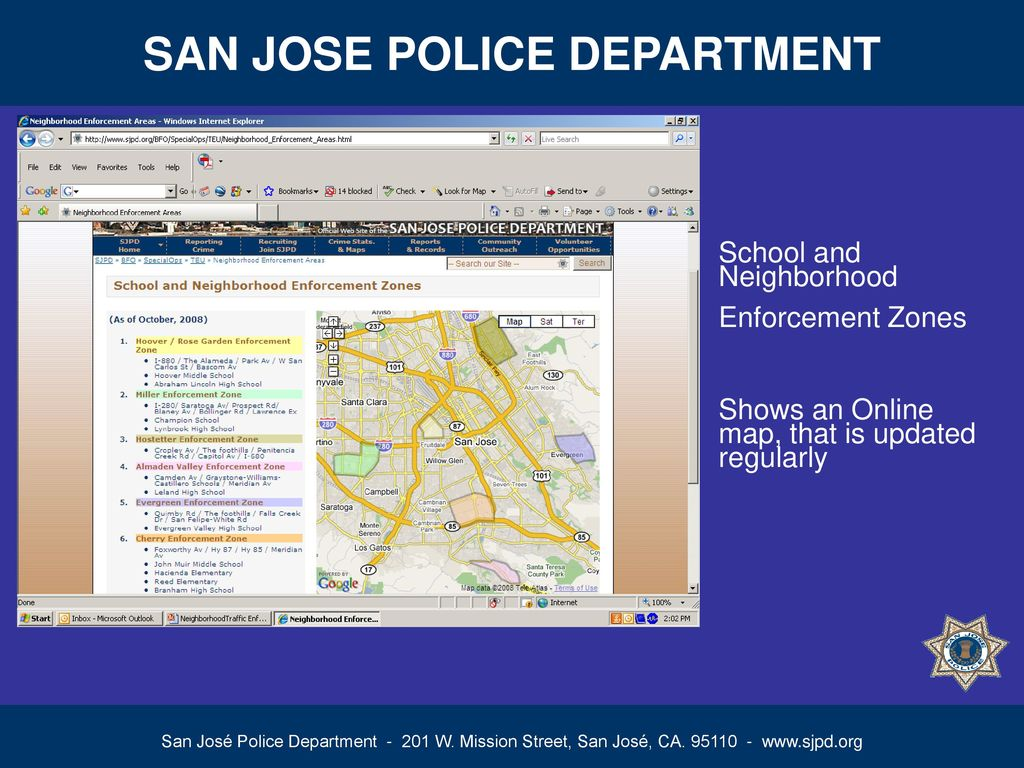 SAN JOSE POLICE DEPARTMENT ppt download