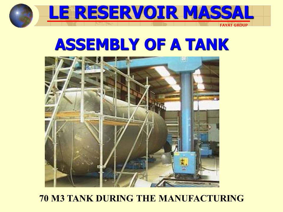 70 M3 TANK DURING THE MANUFACTURING