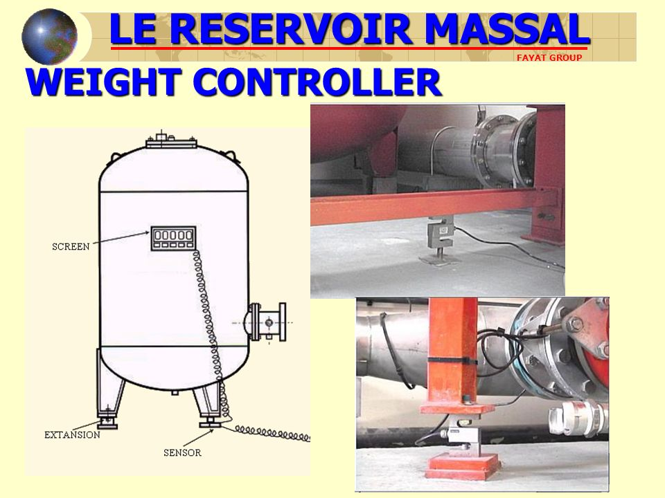 LE RESERVOIR MASSAL WEIGHT CONTROLLER FAYAT GROUP