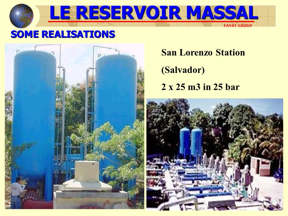 LE RESERVOIR MASSAL SOME REALISATIONS San Lorenzo Station (Salvador)