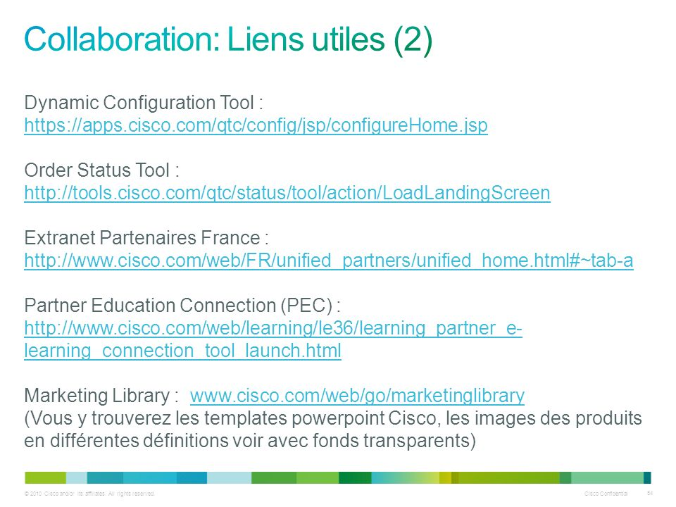 Collaboration: Liens utiles (2)