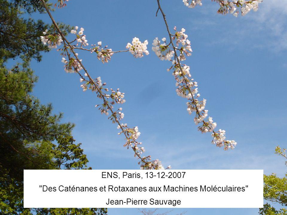 Des Caténanes et Rotaxanes aux Machines Moléculaires