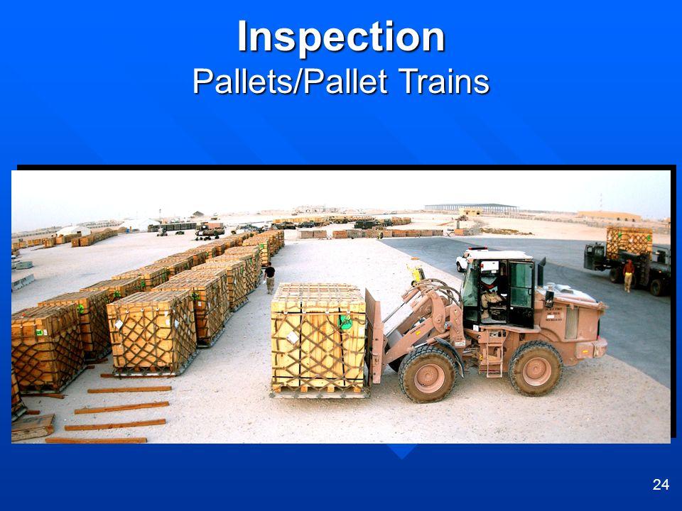 Pallets/Pallet Trains