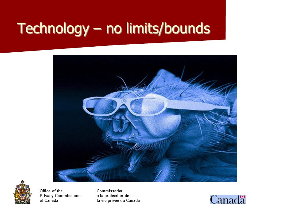 Technology – no limits/bounds