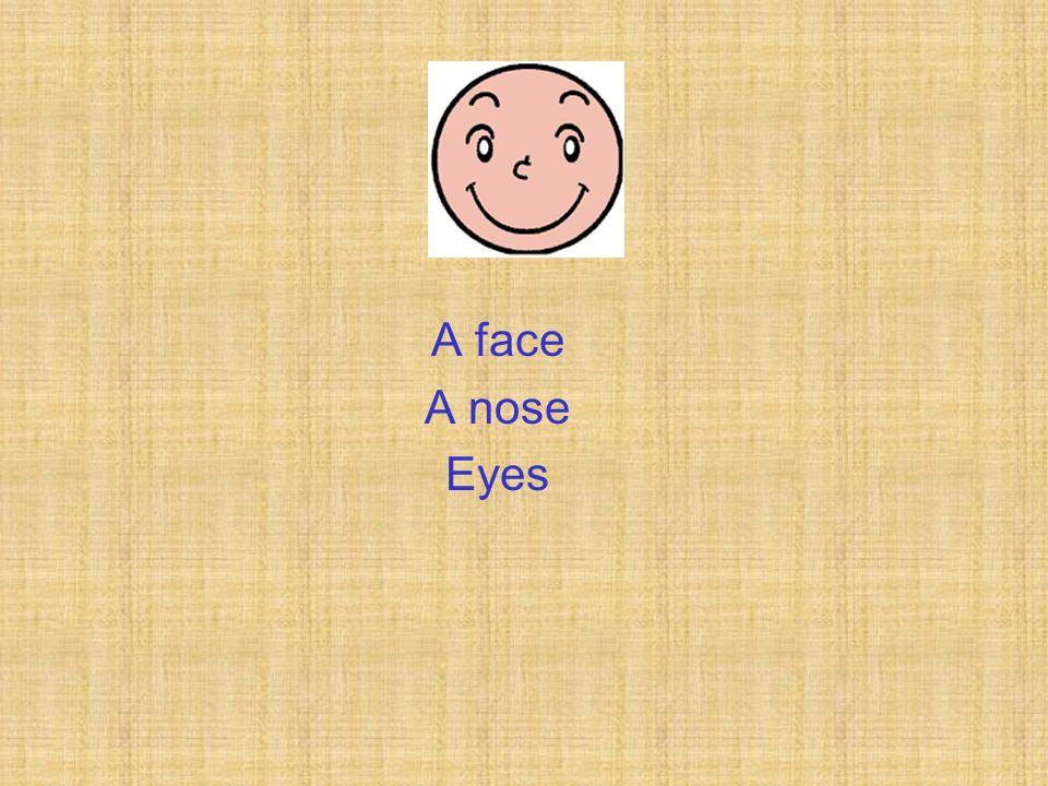A face A nose Eyes