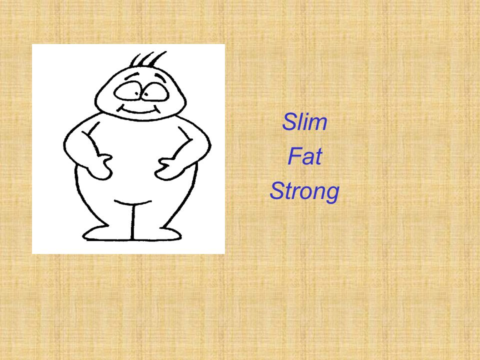 Slim Fat Strong