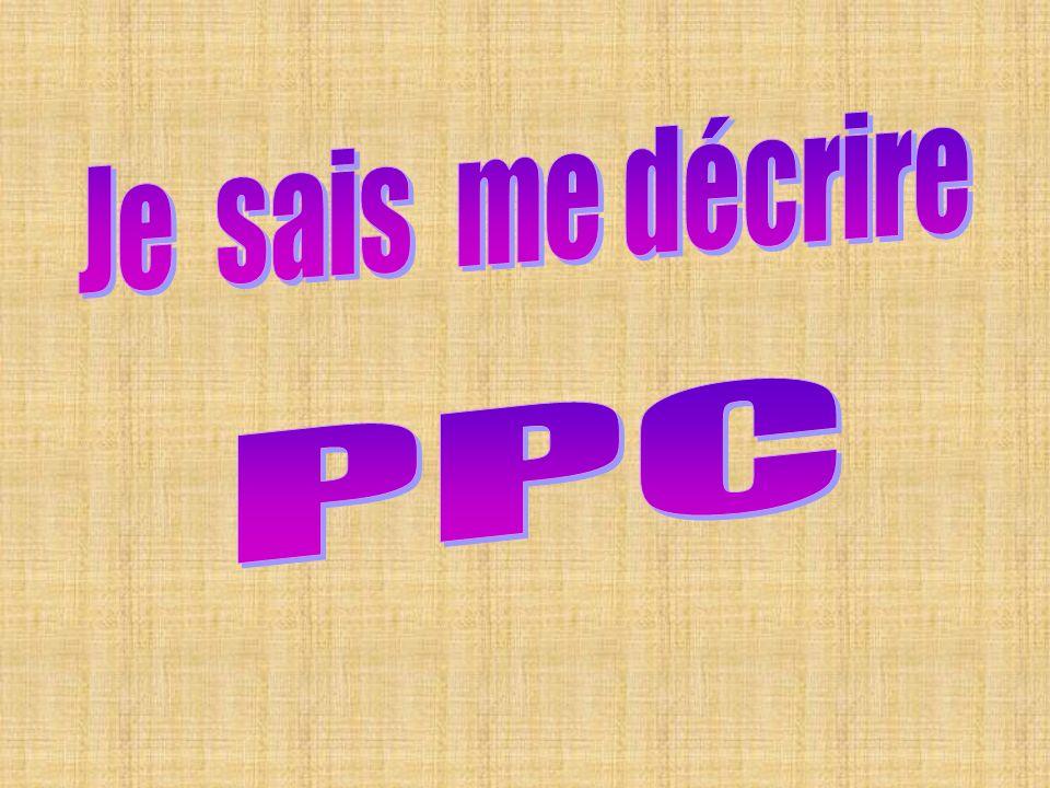Je sais me décrire PPC