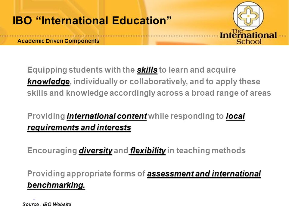 IBO International Education