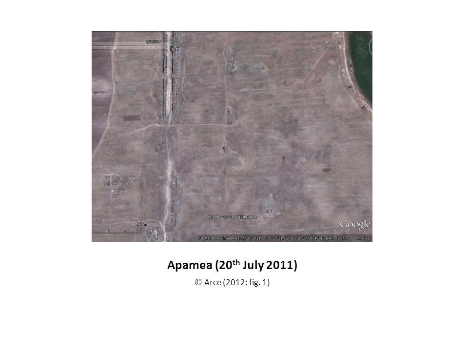Apamea (20th July 2011) © Arce (2012: fig. 1)
