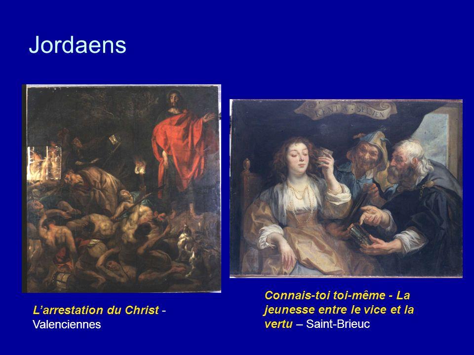 Jordaens Connais-toi toi-même - La jeunesse entre le vice et la vertu – Saint-Brieuc.