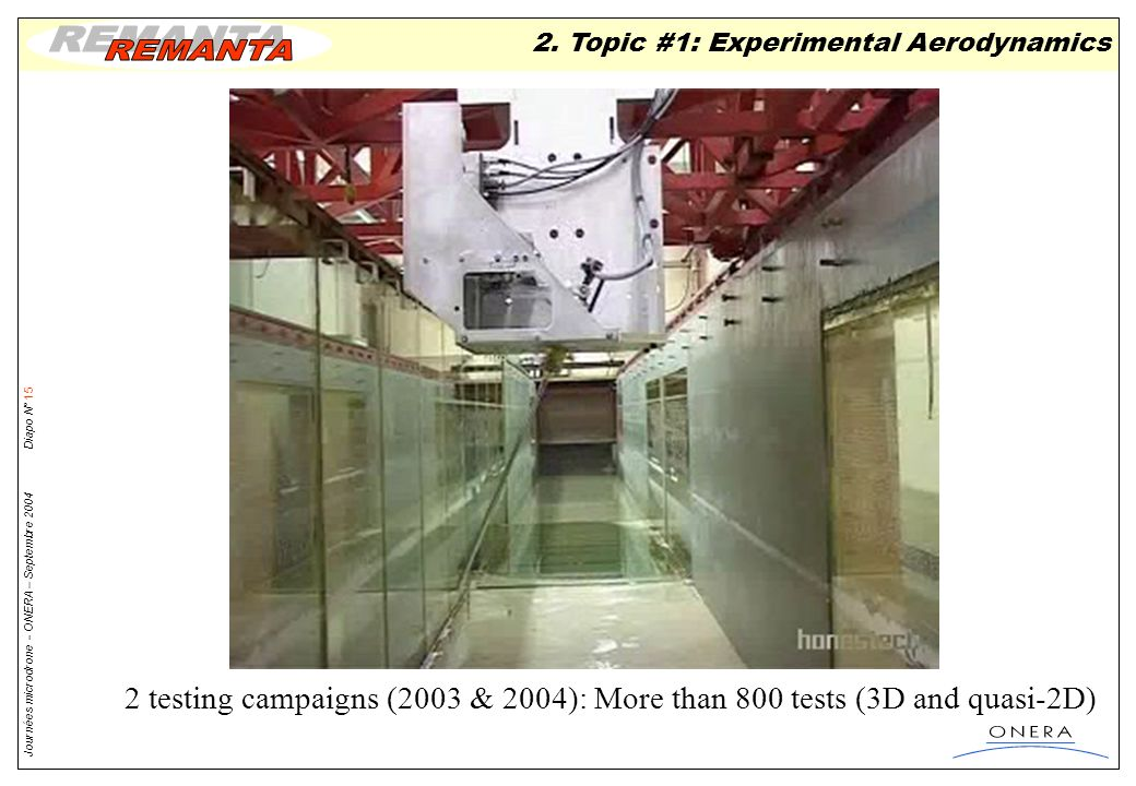 2. Topic #1: Experimental Aerodynamics