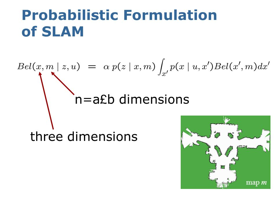 Probabilistic Formulation of SLAM