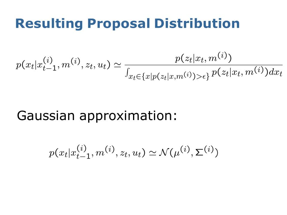 Resulting Proposal Distribution