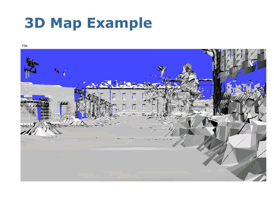 3D Map Example