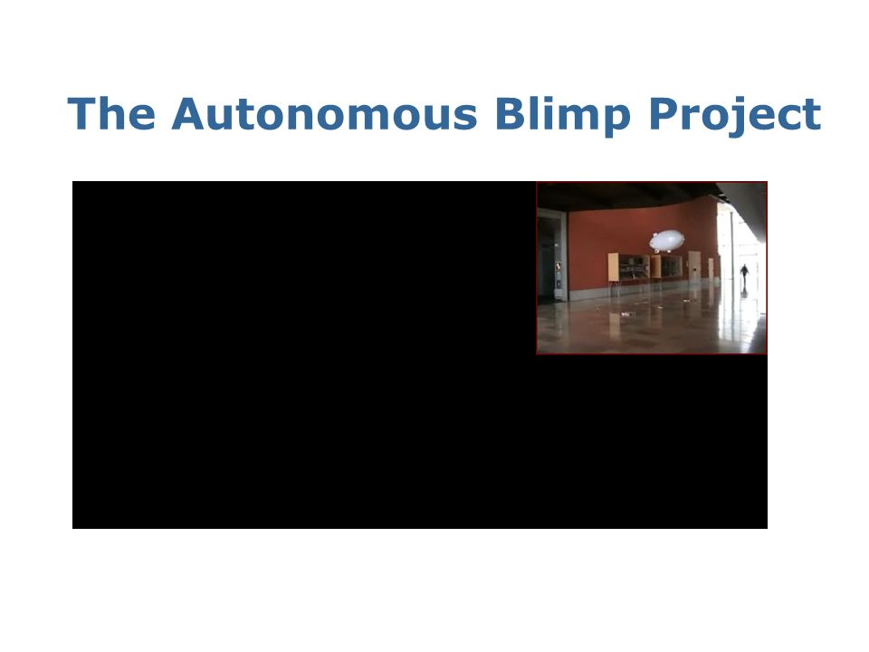 The Autonomous Blimp Project