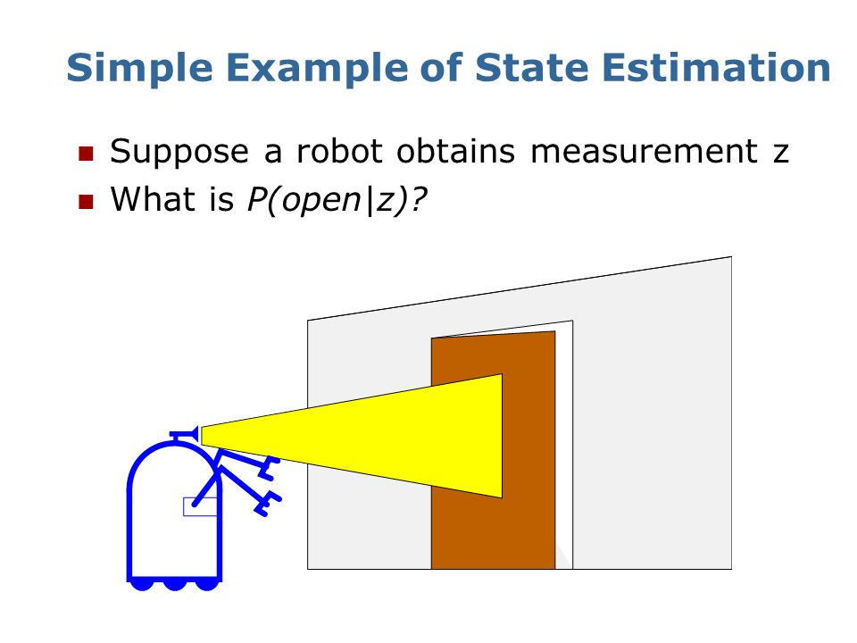 Simple Example of State Estimation