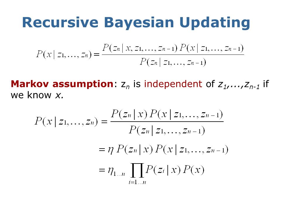 Recursive Bayesian Updating