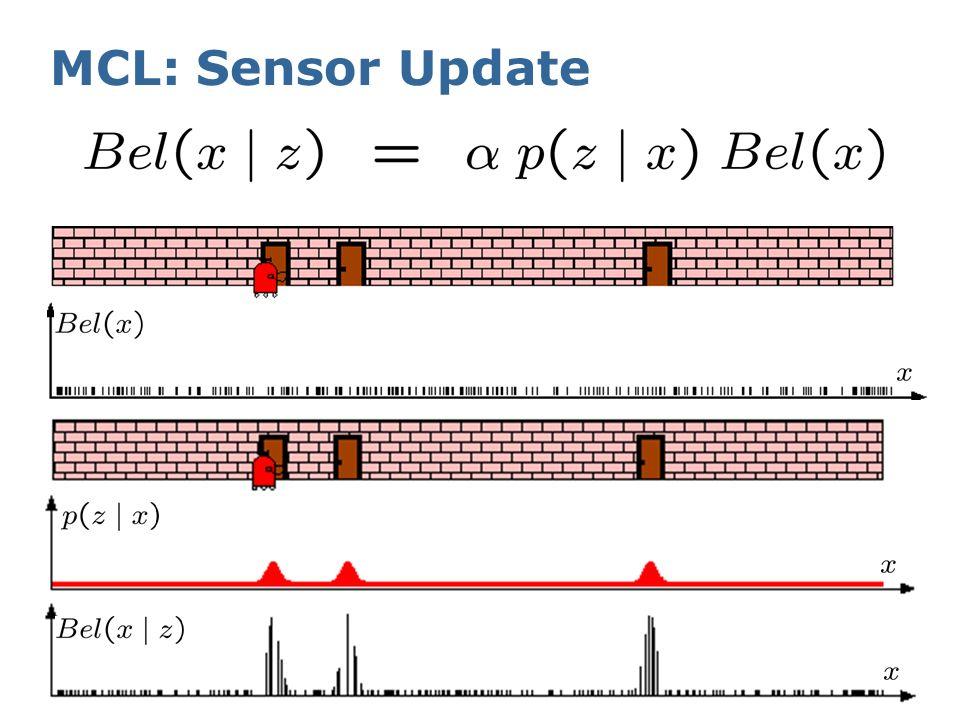 MCL: Sensor Update