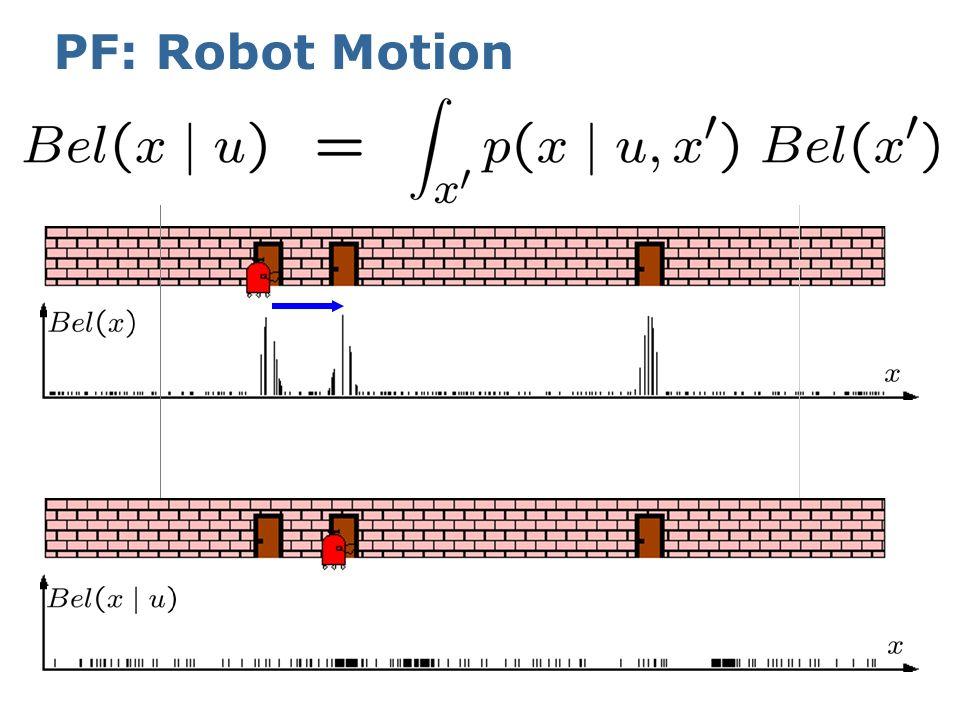 PF: Robot Motion