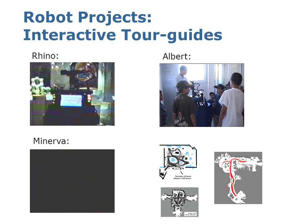 Robot Projects: Interactive Tour-guides