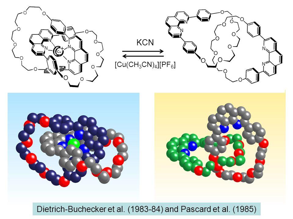Dietrich-Buchecker et al. (1983-84) and Pascard et al. (1985)