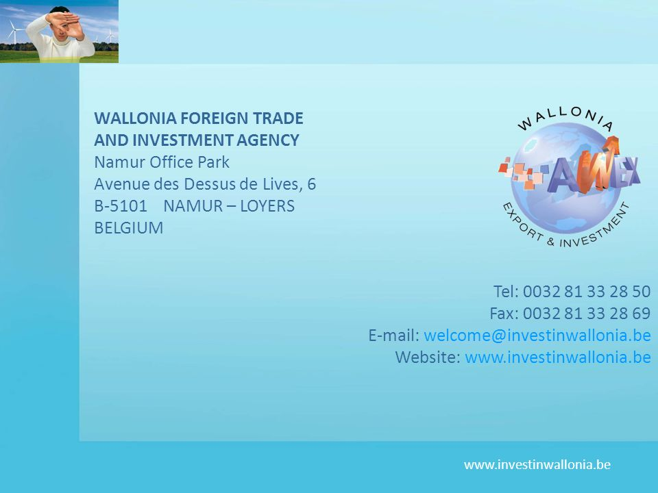 WALLONIA FOREIGN TRADE