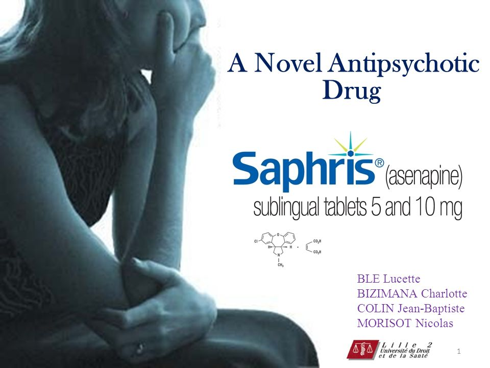 A Novel Antipsychotic Drug