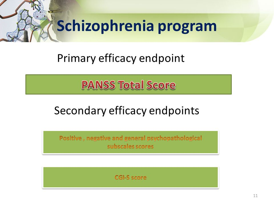 Schizophrenia program