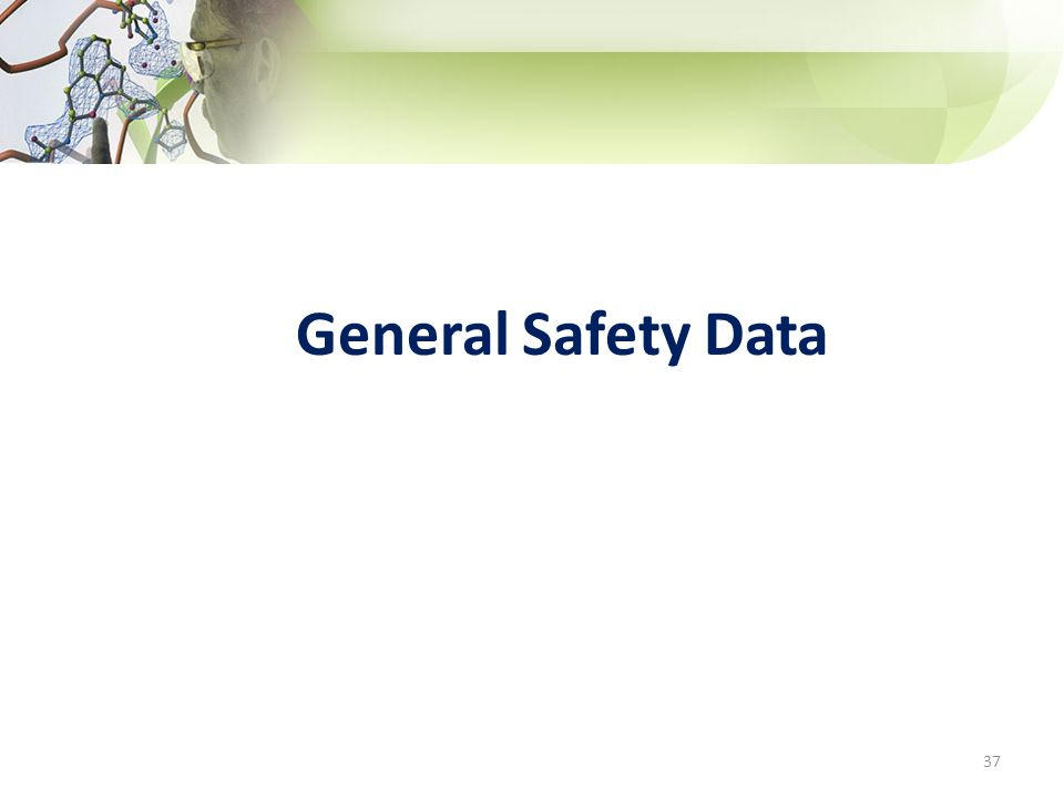 General Safety Data