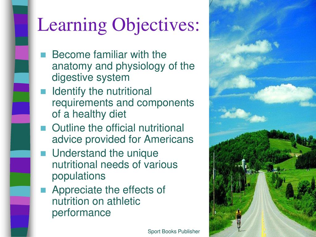 The Nutrition Connection - ppt download
