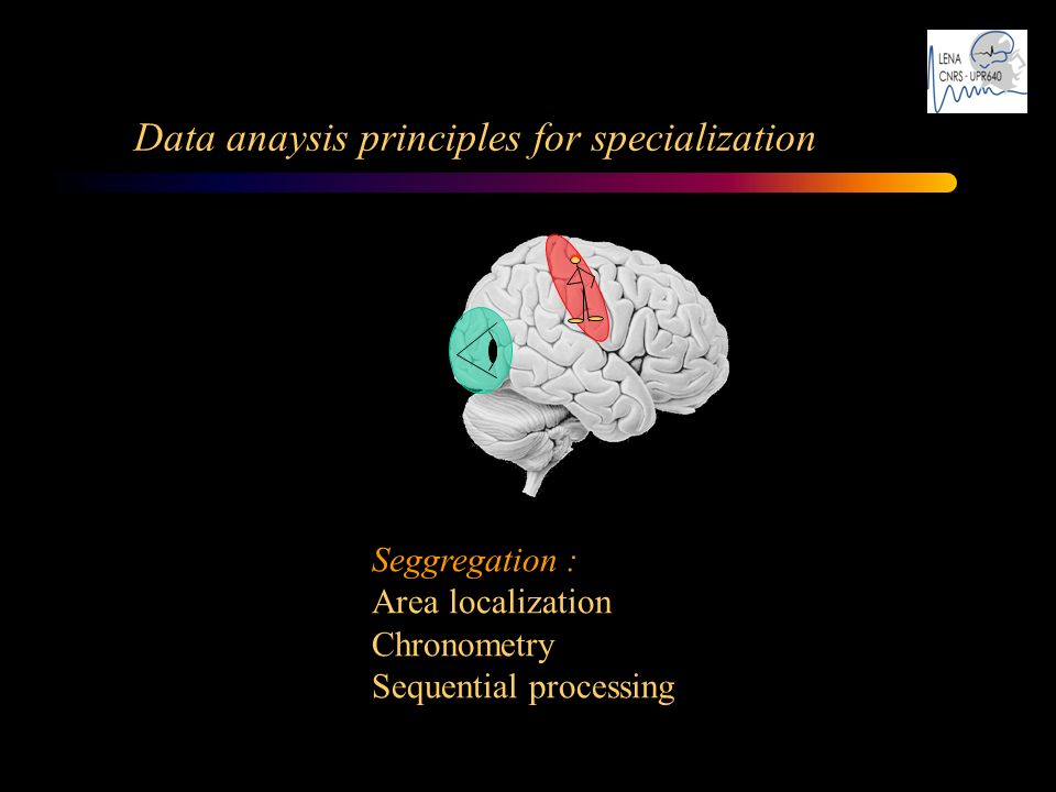Data anaysis principles for specialization