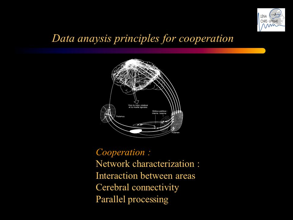 Data anaysis principles for cooperation