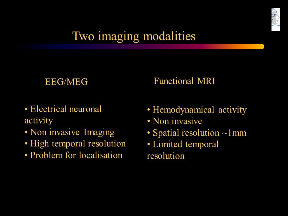 Two imaging modalities