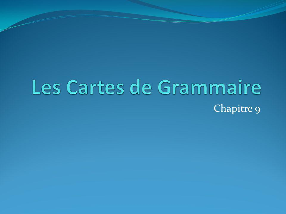 Les Cartes de Grammaire