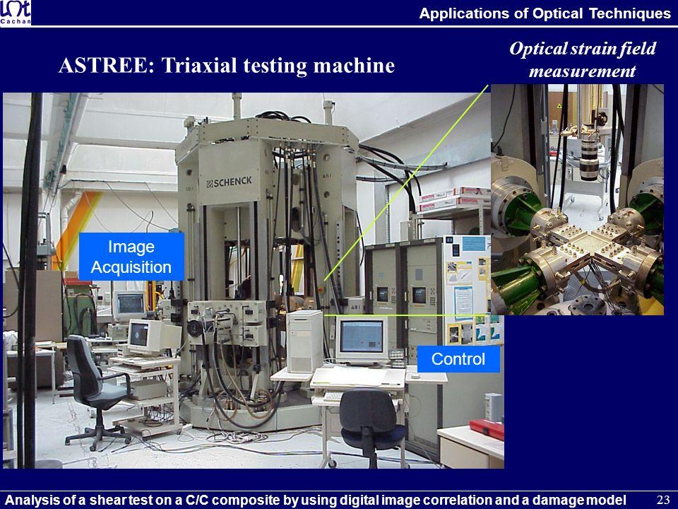Optical strain field measurement
