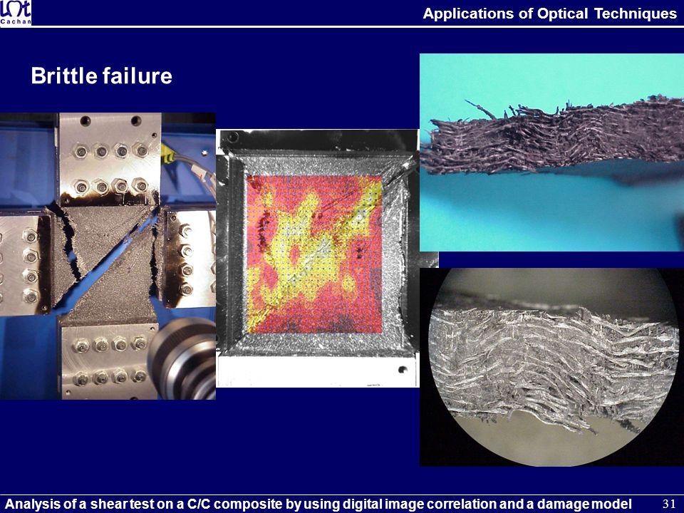 Brittle failure