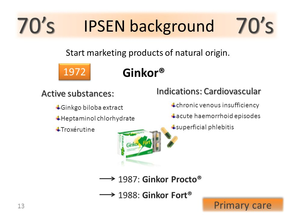 Start marketing products of natural origin.