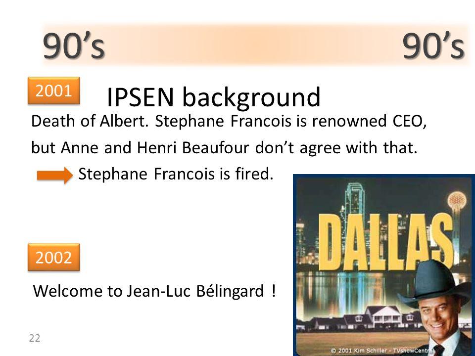 90's 90's IPSEN background. 2001.