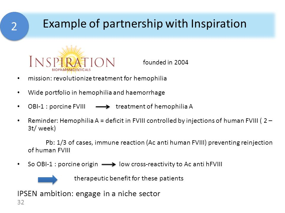 Example of partnership with Inspiration