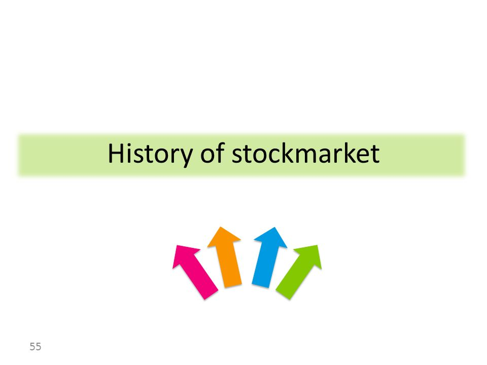 History of stockmarket