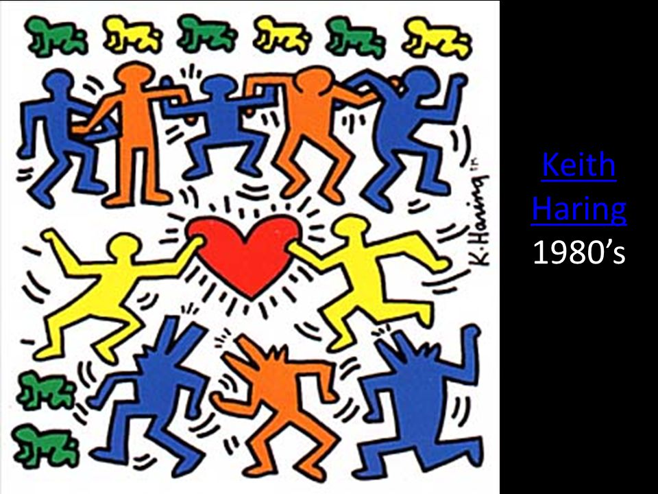 Keith Haring 1980's