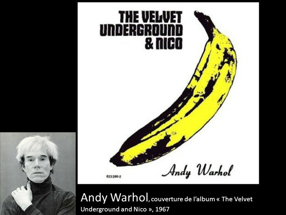 Andy Warhol, couverture de l'album « The Velvet Underground and Nico », 1967