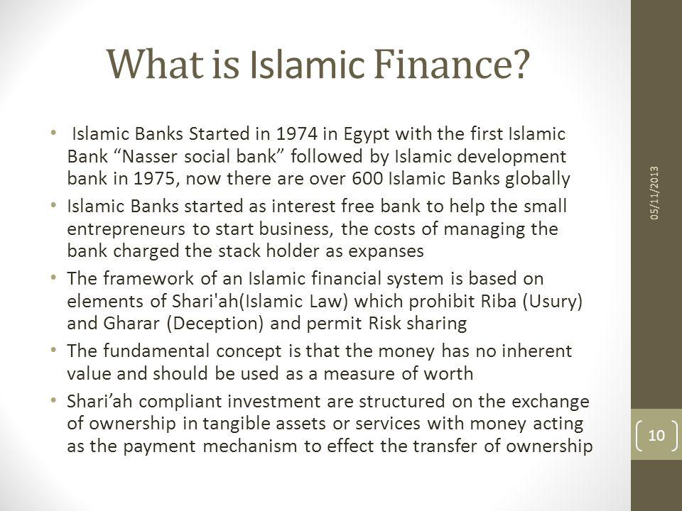 What is Islamic Finance