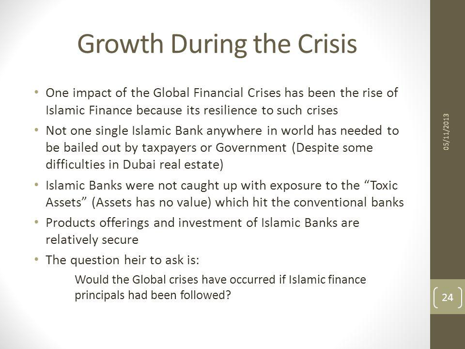 Growth During the Crisis