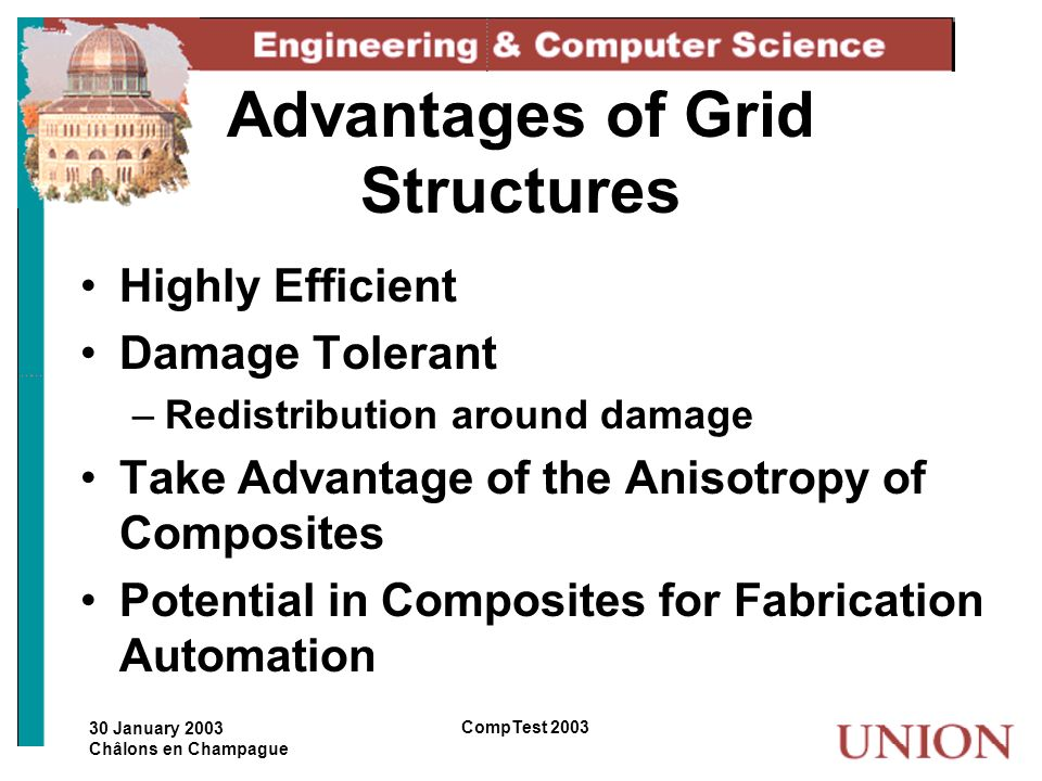 Advantages of Grid Structures