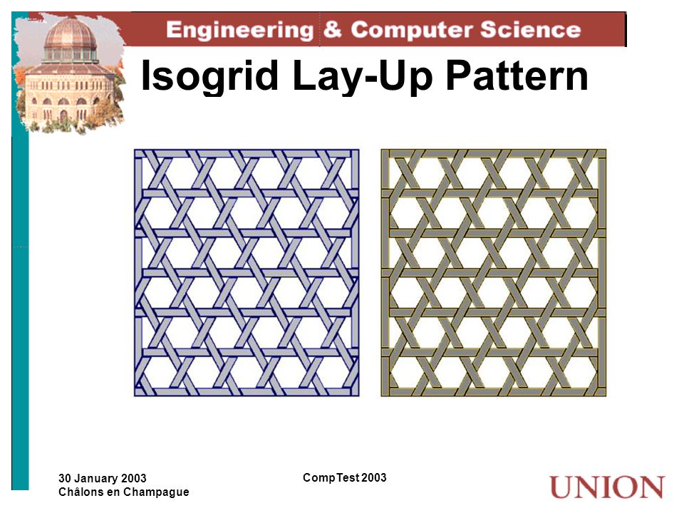 Isogrid Lay-Up Pattern