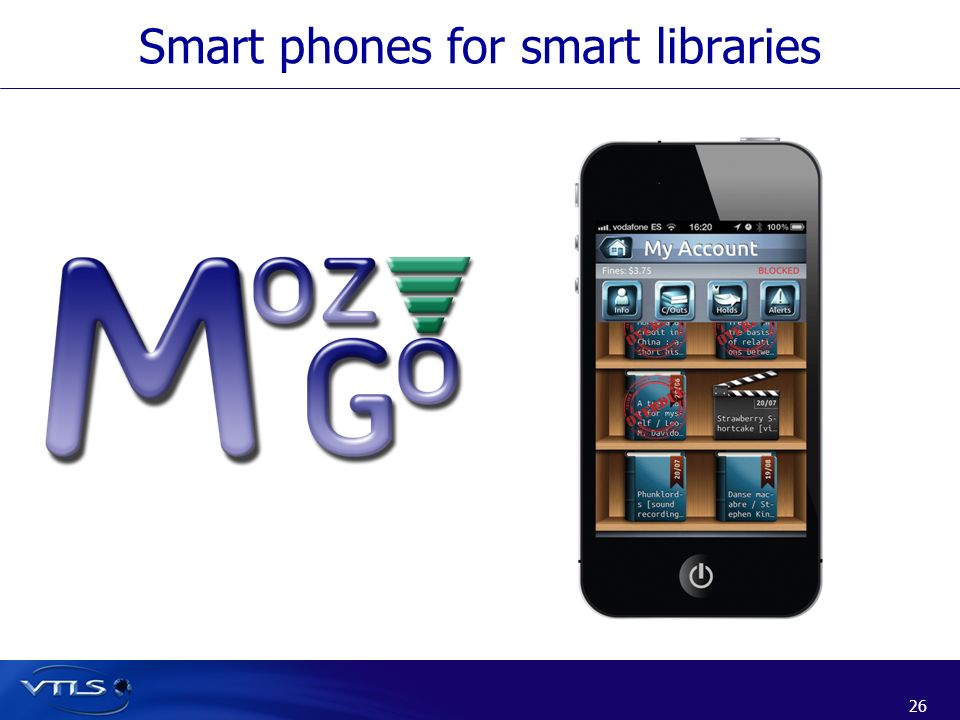 Smart phones for smart libraries