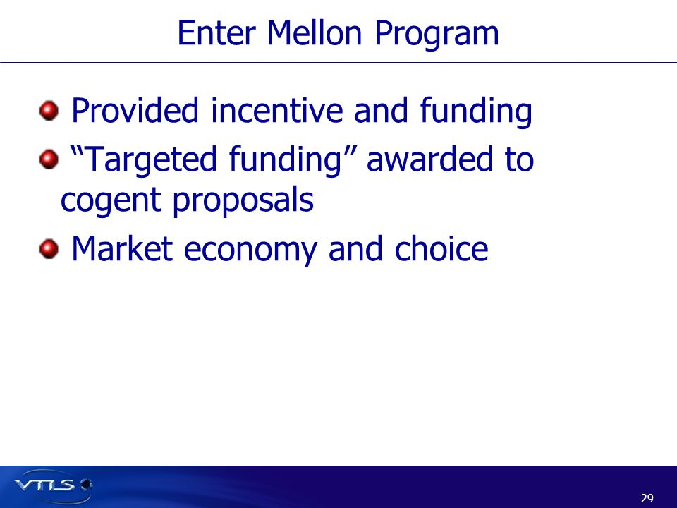Provided incentive and funding