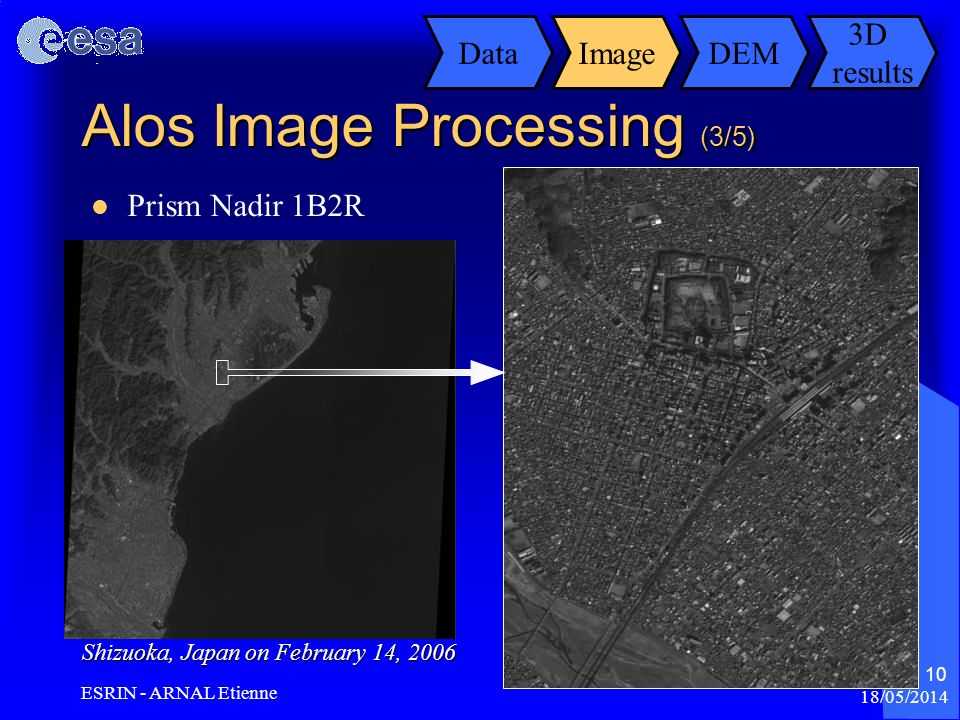 Alos Image Processing (3/5)
