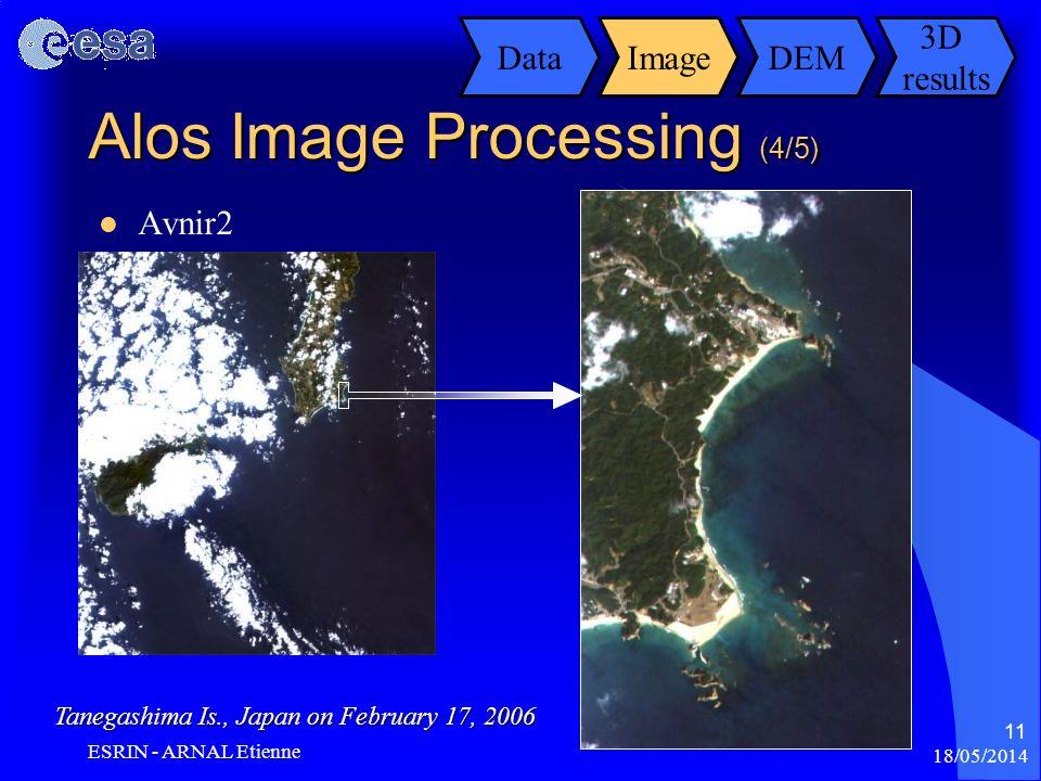 Alos Image Processing (4/5)